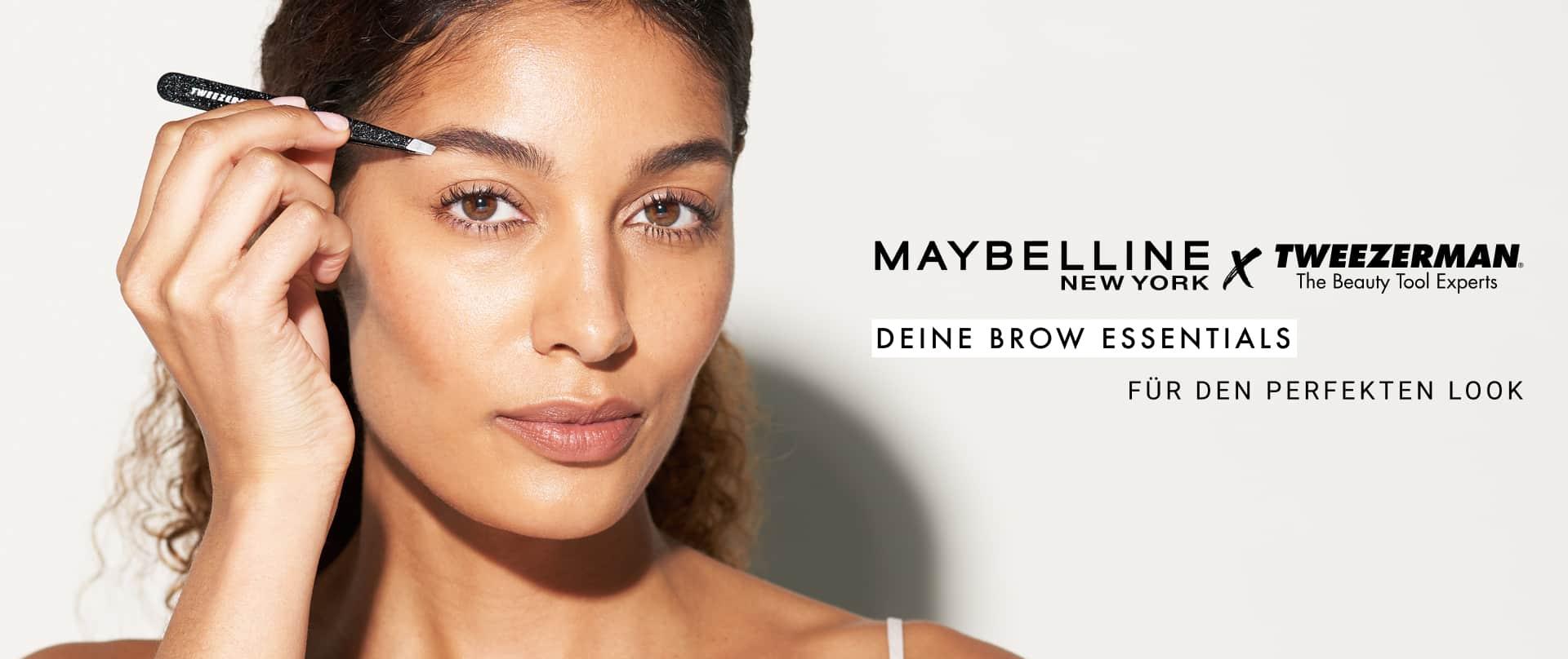 Maybelline x Tweezerman Banner