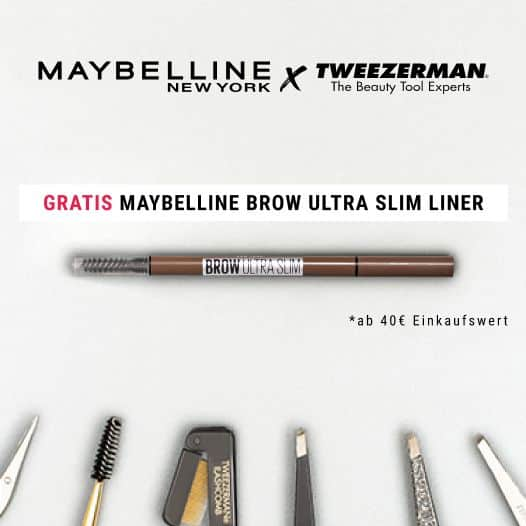 Maybelline x Tweezerman